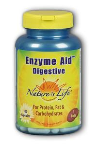 Natures Life: Enzyme Aid Digest Cap 100ct