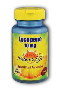 Natures Life: Lycopene 10mg 60ct 10mg