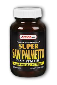 Action Labs: Super Saw Palmetto Plus 50ct