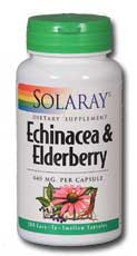 Echinacea and Elderberry, 100ct 440mg