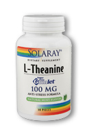 Solaray: L-Theanine Gumlet 30ct