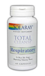 Solaray: Total Cleanse Respiratory 60 Capsules