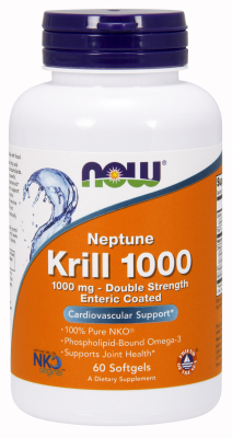Krill Oil 1000mg, 60 Gel Enteric Coated