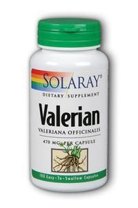 Valerian Root, 100ct 470mg