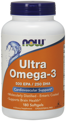 Ultra Omega-3, 180 SoftGels
