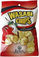 Eden Foods: Chips,hot 'n spicy wasabi 2.1 OZ