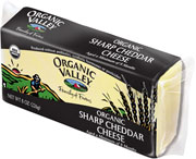Organic Valley: Cheddar,og,sharp,past 8 OZ