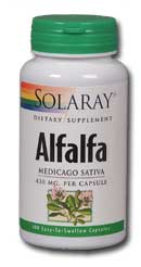 Alfalfa, 100ct 1000mg