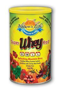 Natures Life: Super Red Whey Mountain Berry Flavor 1 lb Powder