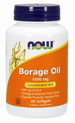 BORAGE OIL 240mg  60 SGELS, 60 sg
