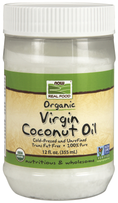 COCONUT OIL VIRGIN ORGANIC   12 OZ, 12 OZ