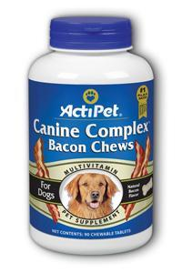 Canine Complex Bacon Flavor Dietary Supplement