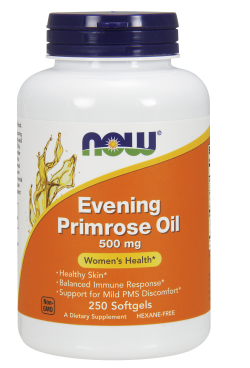 NOW: EVENING PRIMROSE 500mg  250 SGELS 1