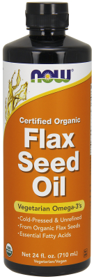 FLAX SEED OIL, 24 oz