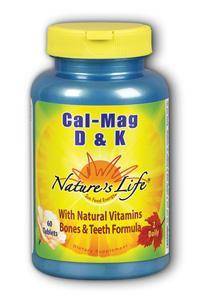 Natures Life: Calcium Magnesium with D and K 60ct