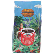 Jims Organic Coffee: Coffee,og,holiday blend 12 OZ