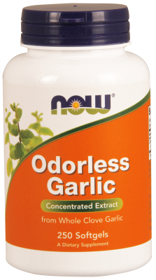 ODORLESS GARLIC ORIG 2500mg  250 SGELS, 1