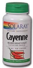 Cayenne, 100ct 515mg