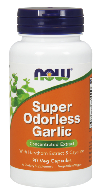 NOW: SUPER ODORLESS GARLIC 5000mg  90 CAPS 1