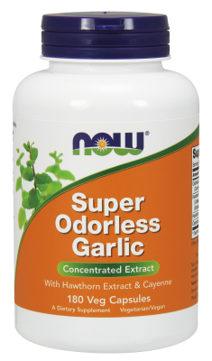 NOW: SUPER ODORLESS GARLIC 5000mg  180 CAPS 1