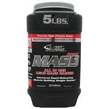 INNER ARMOUR: MASS-PEAK GAINER STRAWBERRY 5 LBS