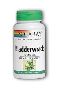 Solaray: Bladderwrack 100ct 580mg