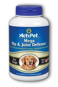 ActiPet: Mega Hip & Joint Defense 60ct