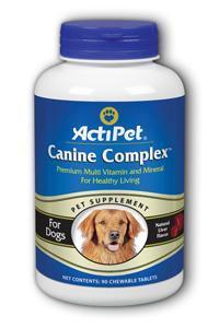 ActiPet: Canine Complex 90ct Liver