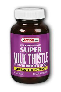 Action Labs: Super Milk Thistle Plus 50ct