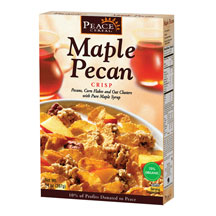 Peace Cereals: Cereal,og,maple pecan crp 14 OZ