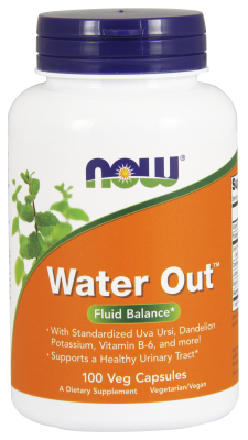 NOW: Water Out Herbal Diuretic 100 Vcaps