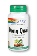 Solaray: Dong quai 180ct 550mg