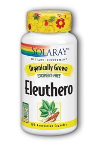 Solaray: Organic Eleuthero 100ct 400mg