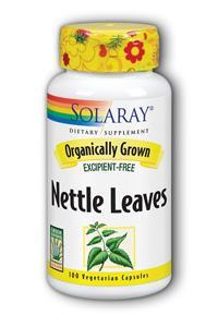 Solaray: Organic Nettle Leaves 100ct 450mg