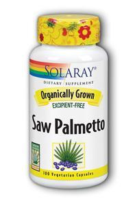 Solaray: Organic Saw Palmetto 100ct 555mg