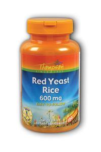 Thompson Nutritional: Red Yeast Rice 100ct 600mg