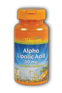 Thompson Nutritional: Alpha Lipoic Acid 50mg 90ct 50mg