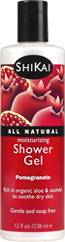 ShiKai: Moisturizing Shower Gel Pomegranate 12 oz