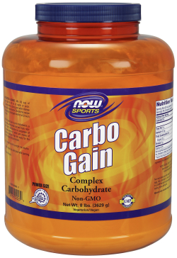 NOW: CARBO GAIN  -NEW SIZE-   7 LB 7 lb
