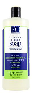 EO PRODUCTS: HAND SOAP PEPPERMINT And TEA TREE RFL 32OZ