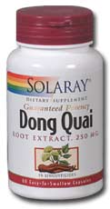 Solaray: Dong Quai Root Extract 60ct 250mg