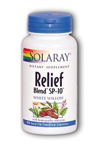 Solaray: Relief Blend SP-10 100ct