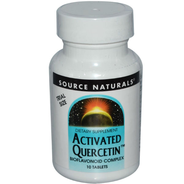 SOURCE NATURALS: Activated Quercetin 10 tab Trial 10 tab