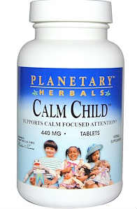 PLANETARY HERBALS: Calm Child 72 tabs