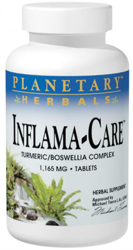 PLANETARY HERBALS: INFLAMA-CARE 1165MG 10 Tabs