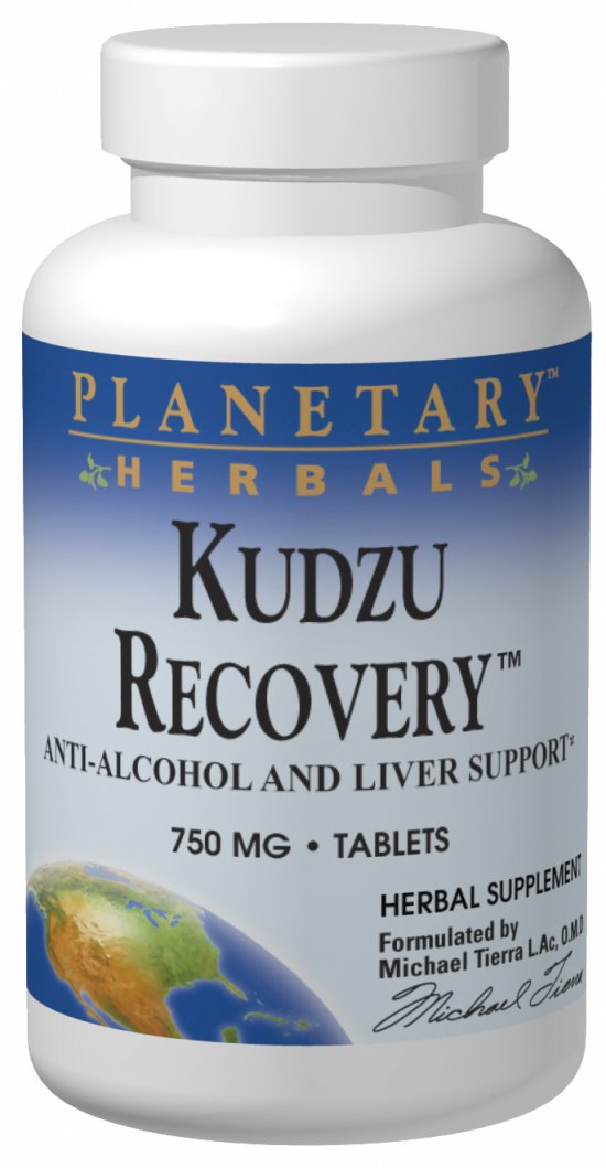 PLANETARY HERBALS: KUDZU RECOVERY 750 MG TRIAL 10 tabs