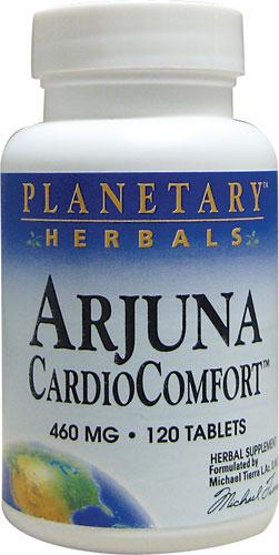 PLANETARY HERBALS SHRINK: Arjuna CardioComfort 60+60t 120 tabs