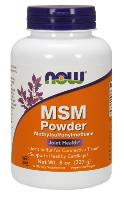 M.S.M PURE POWDER 8 OZ