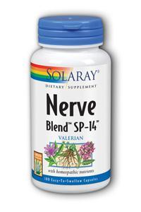 Solaray: Nerve Blend SP-14 100ct