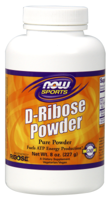 NOW: D-Ribose Pure Powder 8 oz.